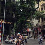 ハノイ旧市街の様子
