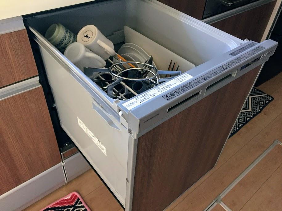 ごとくも食洗機で洗っています。