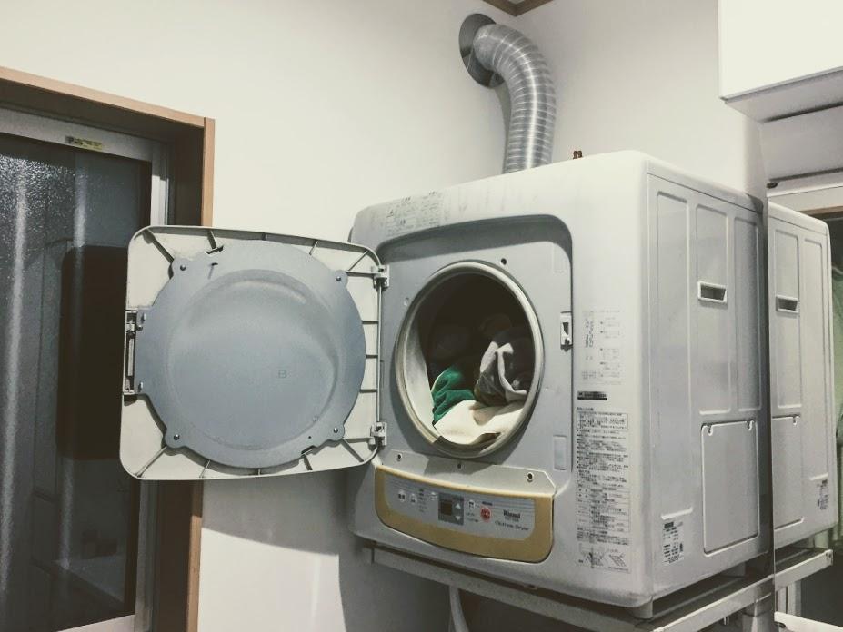 乾燥機があると洗濯は天気予報いらずです